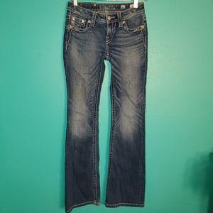 Miss Me girls embellished pocket jeans